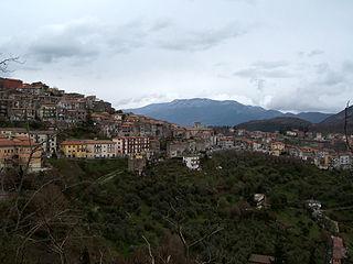 Segni Comune in Lazio, Italy