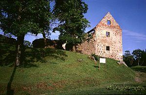 Aizpute Castle - Image: 01 058aizpute