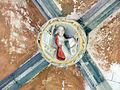 024 Sant Jeroni de la Murtra, galeria sud del claustre, clau de volta.JPG