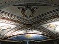 064 Monestir de Sant Benet de Bages, església, sostre de la cripta.jpg