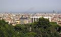 068 Vista des del parc, amb el campanar de Sant Vicenç de Sarrià.jpg