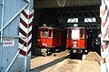 093R31050982 Tramwaymuseum in der Remise Ottakring, Typ N 2714, Typ N 2706.jpg