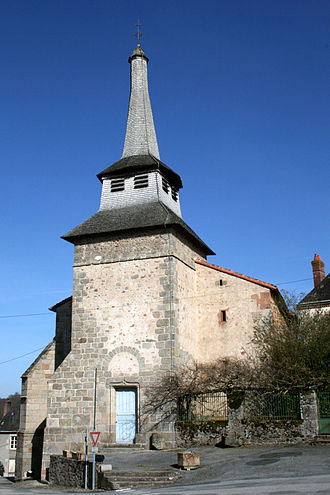 Saint-Pierre-de-Fursac - The church in Saint-Pierre-de-Fursac