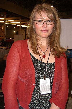 Nicola Scott - Scott at the New York Comic Con in Manhattan, 10 October 2010