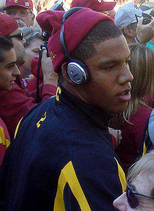 Taylor Mays - Mays before 2007 Notre Dame game.