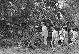 105th Medium Battery, Royal Australian Artillery - Image: 105 Bty RAA