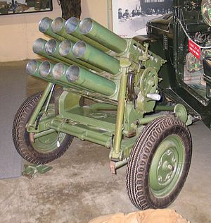 Type 63 multiple rocket launcher - Type 63 rocket launcher
