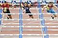 110m hurdles final Zurich 2014.jpg