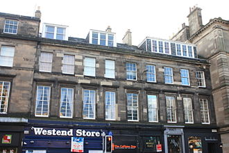 Robert Archibald Smith - Smith lived in a flat at 11 Melville Place, Edinburgh