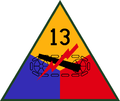 13th US Armored Division SSI.png