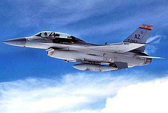 162nd Fighter Wing - 152nd Fighter Squadron - General Dynamics F-16D Block 42A Fighting Falcon 88-0156
