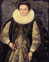 Portrait of Sofie von Braunschweig-Lüneburg, 2nd wife of Georg Friedrich I. von Brandenburg-Ansbach