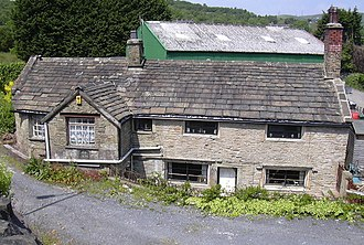 Listed buildings in Rawtenstall - Image: 1690 Cottage Ewood Bridge geograph.org.uk 463560