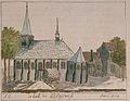 1729 Kerk van Bleiswijk door Cornelis Pronk (Schoemakeratlas).jpg