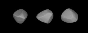 178 Belisana - A three-dimensional model of 178 Belisana based on its light curve.