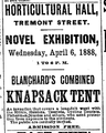 1887 tent HorticulturalHall BostonGlobe 3April.png