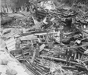 1891 Mino–Owari earthquake - Damage from the earthquake