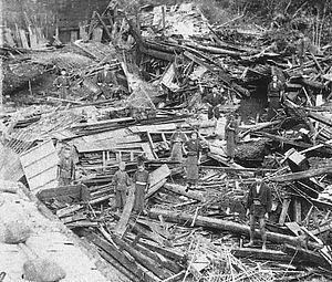 1891 Mino–Owari earthquake - Damage from the earthquake