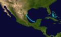 1892 Atlantic tropical storm 6 track.png