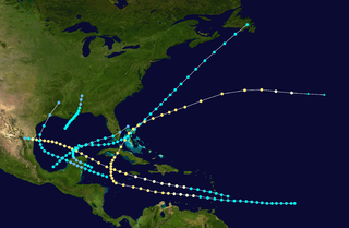 1895 Atlantic hurricane season hurricane season in the Atlantic Ocean