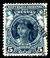 1900 Uruguay 5 c Yv154.jpg