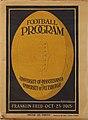1915 Penn versus Pitt football program cover.jpg
