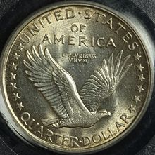 1916 Standing Liberty quarter reverse.jpg