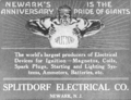 1916 advert Splitdorf Electrical Newark NJ.png