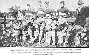 1920 Centre Praying Colonels football team.jpg