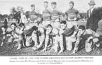 1920 Centre Praying Colonels football team - Image: 1920 Centre Praying Colonels football team