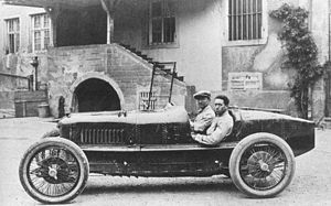 Pietro Bordino - Bordino at the 1922 French Grand Prix