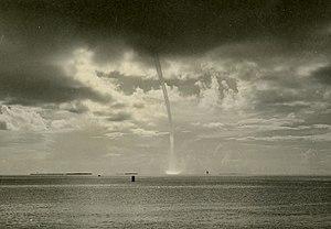 1944 Cuba–Florida hurricane - Image: 1944 hurricane effects in Key West MM08838 26x (15477075451)