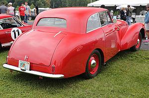 Allard P1 - 1951 Allard P1, rear view