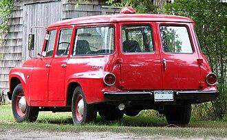 International Harvester Travelall - 1965 D1100 Travelall, from rear