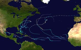 1967 Atlantic hurricane season hurricane season in the Atlantic Ocean