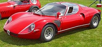 Butterfly doors - Image: 1968 Alfa Romeo 33 Stradale