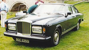 Bentley T-series - Image: 1969 Bentley T Pininfarina 5003585015