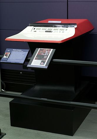 In 1969, customers could buy a $10,600 kitchen computer to help with recipes. 1969 Neiman Marcus Kitchen Computer.jpg