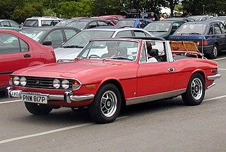 Triumph Stag - 1975 Triumph Stag