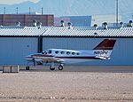 1977 Cessna 414 Chancellor N80PV 414-0963 (4998191702).jpg
