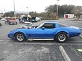 1980 Blue Chevy Corvette with 486 engine; Side View.jpg
