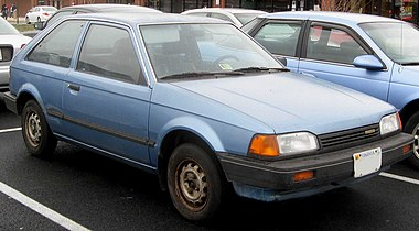 1988 or '89 Mazda 323. (Faceman) - CougarBoard.com