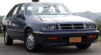 Dodge Lancer - 1988 Dodge Lancer ES Turbo