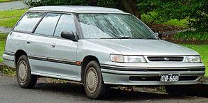 Subaru Legacy - Facelift Subaru Liberty LX wagon (Australia)
