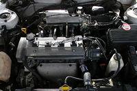 ...с новым передом машины,А-ля БМВ(Сдвоенные фары под одним стеклом как у меня) и еще был сменен двигатель с 4а-fe...