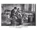 19th century knowledge primitive tools gun flint knapper at work.PNG