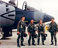 1st 4- VMA-311.Pilots,to take the USA AV8B into combat.jpg