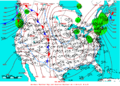 2005-01-17 Surface Weather Map NOAA.png