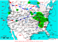 2005-02-14 Surface Weather Map NOAA.png