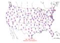 2006-01-04 Max-min Temperature Map NOAA.png